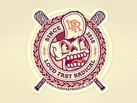 LFR Skull Sticker