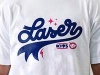 Laser Kids Tee