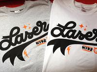 Laser Kidz tee now live