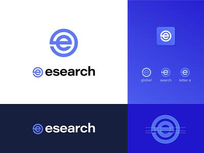 E Search Logo Redesign   Rebranding graphics logo designer web app app logo identity simple trendy modern creative search simple logo e logo design e search logo simple e logo best logo new logo rebranding redesign logo redesign logo design