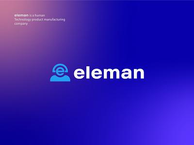 eleman- Logo Design best logo new logo designer trendy creative simple modern business company logo logos logo design