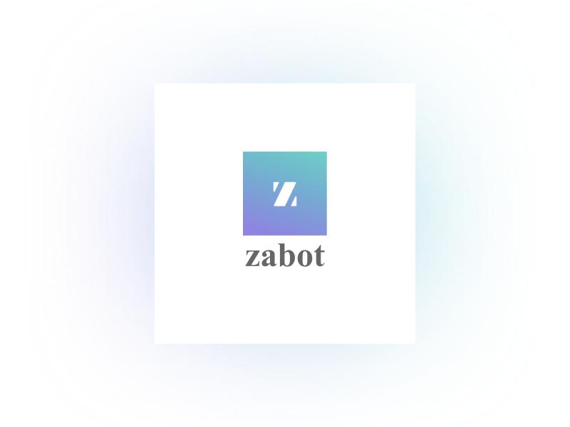 Zabot presentation bot cover logo zabot