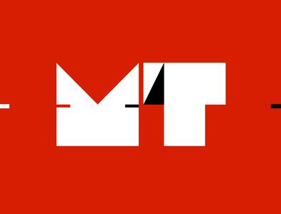 Medtech Prize minimal vector flat typography logo branding