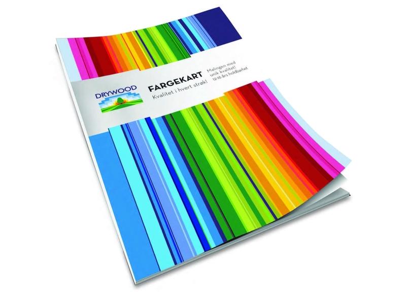 Color book for ink factory branding illustration vector flat