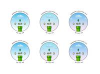 MongoDB Team Stickers gradient tech mongodb vector cloud mario sticker pixel art adobe illustrator adobe illustration design illustration art illustration design sticker design core iam