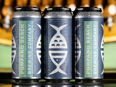 Branded Crowlers cans branding green beer branding logo packaging crowler beer