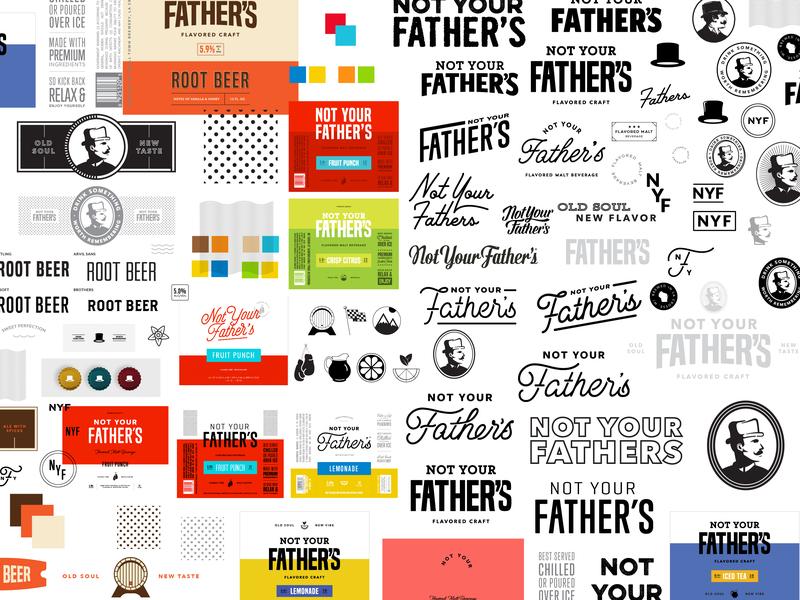 God Bless This Mess logomark pattern icons wip progress gentlemen logotype concepts logo bts behind the scenes artboard