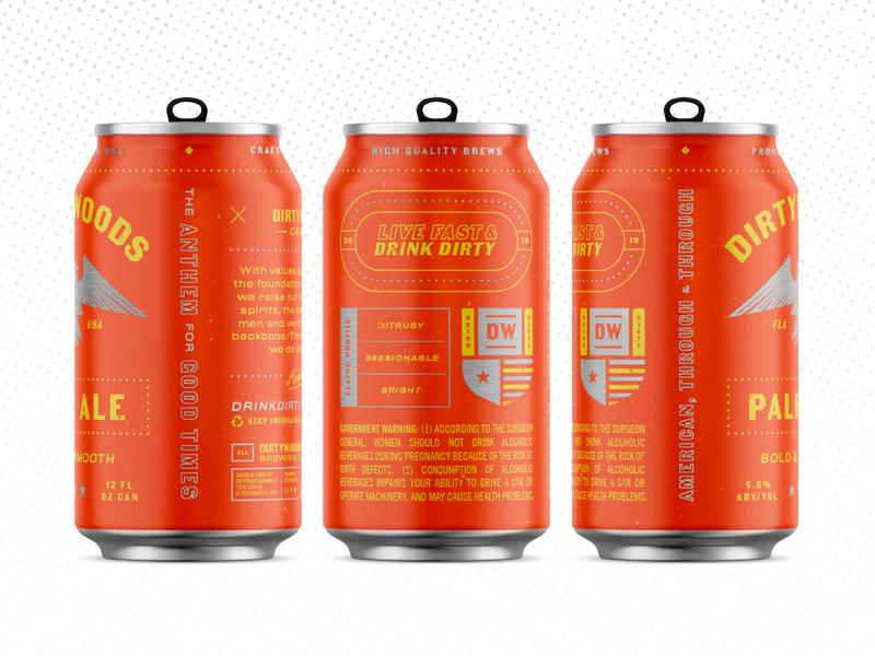Pale Ale Wrap nascar patriotic america dieline typography beer branding packaging can beer can beer
