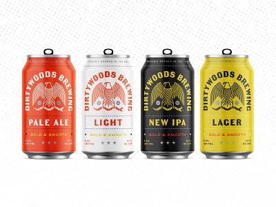 Drink Dirty Pt. 3 color beer branding packaging craftbeer pale ale light beer lager ipa snake eagle florida beer can