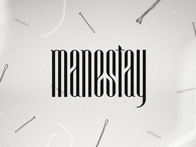 Manestay Logotype