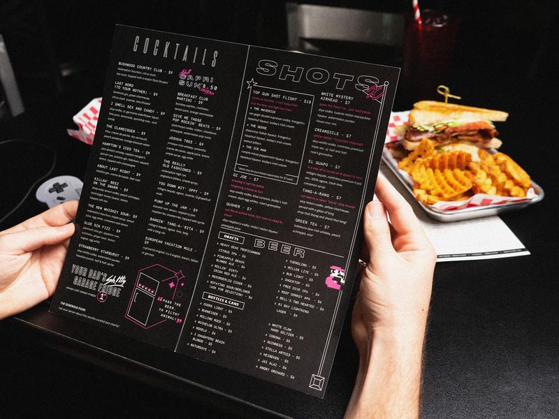 Cocktail Menu food and drink food photography layout branding restaurant branding restaurant menu