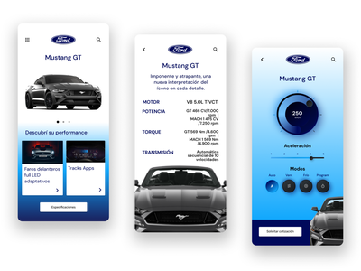 DailyUI - #34 Car Interface mobile user productdesign product design ui app interface car