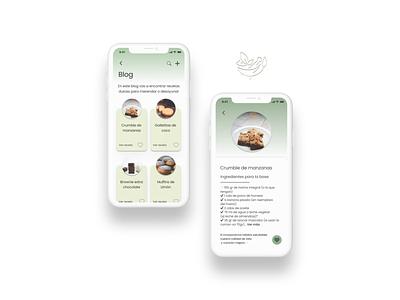 DailyUI - #40 Recipe productdesign product branding logo graphic design design app ui recipe food