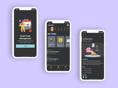 DailyUI - #42 ToDo List graphic design ui design app illustration ux work list todolist task