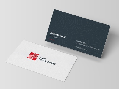 SG Business Cards texture topography design cards business sg