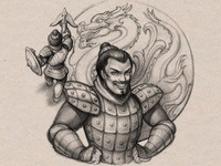 Magic&Fight character: Shao Kung