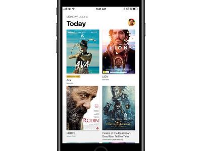 Cinema app ios 11 application cinema ios