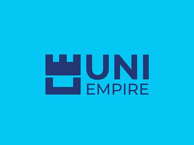 UNI EMPIRE - LOGO typography illustration icon graphic design design vector branding logo