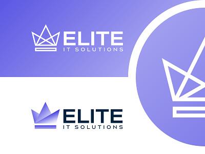ELITE logo design clean brand art minimal illustrator flat typography illustration icon graphic design design vector branding logo