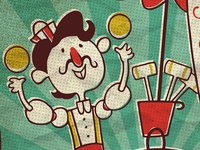 The Croquet Ball Juggler