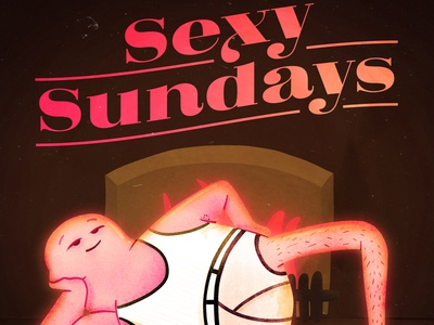 Sexy Sundays character design characterdesign character filthy shiny dirty sunday sundays sexy illustration spoon
