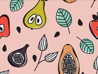 Fruit pattern 2