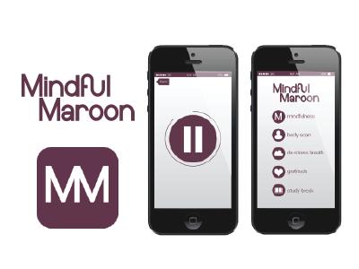 Mindful Maroon