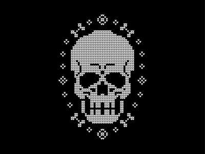 Xmas Sweater Skull