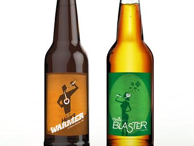 Beer Labels illustration beer