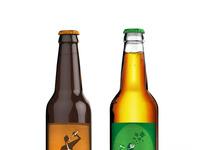 Beer labels bottles 01