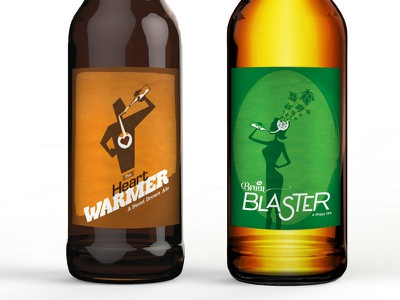 Beer Labels illustration beer