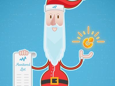 Santa santa claus happy holidays christmas