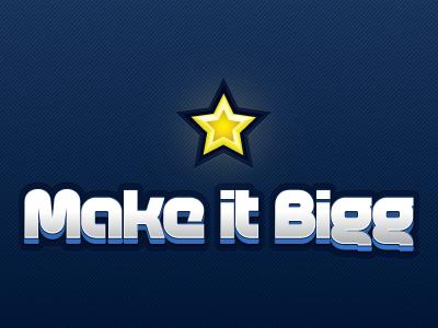 Makeitbigg Logo iphone music logo