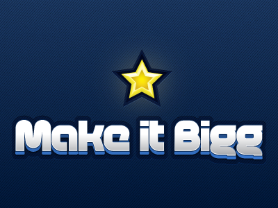 Makeitbigg Logo iphone music logo