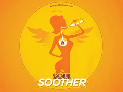 The Soul Soother homebrewing illustration beer