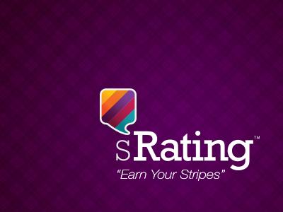 sRating logo logo brand texture