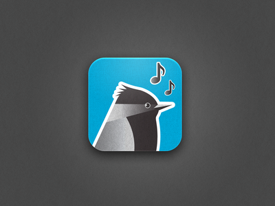 Pipio iOS Icon iphone app icon ios bird