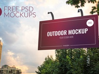 1 5 - Free 3 Outdoor Psd Mockups Download