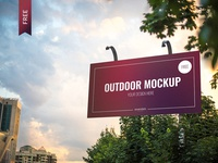 3 3 - Free 3 Outdoor Psd Mockups Download