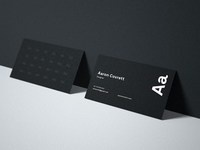 1 1 - Free Business Card Psd Mockup