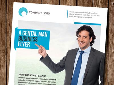 A Gentleman Poster Flyer Free Psd