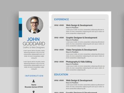 Major Resume/CV