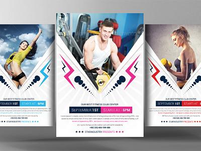 Fitness Health Flyer Psd Template flyer psd template health flyer fitness health