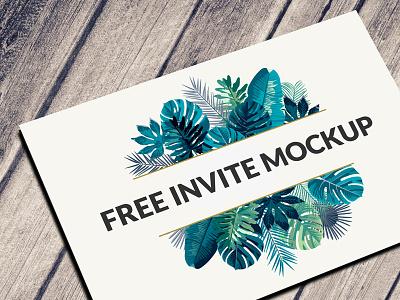 Free Postcard & Invitation Mockup Psd Download download mockup psd invitation mockup free postcard