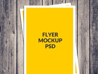 mockup - Free A4 Poster Flyer Mockup Psd Download