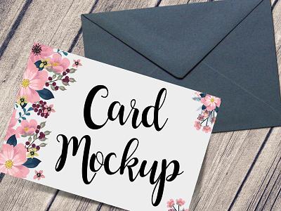 Free Card & Envelope Mockup Psd download mockup psd invitation mockup free postcard