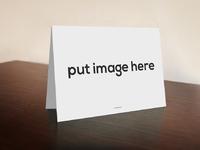 mockup - Free Desk Card Mockup Psd Download