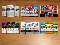 Rent A Car Flyer Bundle