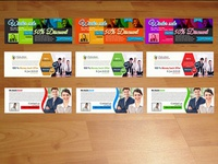 Pack of 3 Business Facebook Covers