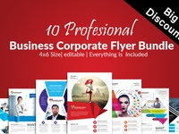 10 Business Flyer Bundle Vol:10